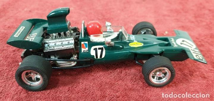 Scalextric: COCHE SCALEXTRIC. TYRRELL FORD. REF C-48. COLOR VERDE. 1973. - Foto 2 - 196148092