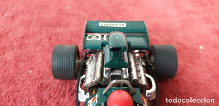 Scalextric: COCHE SCALEXTRIC. TYRRELL FORD. REF C-48. COLOR VERDE. 1973. - Foto 3 - 196148092
