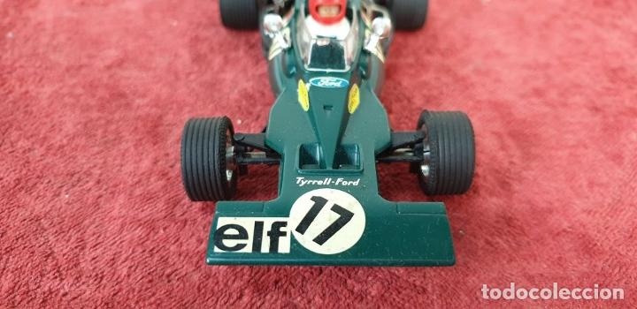 Scalextric: COCHE SCALEXTRIC. TYRRELL FORD. REF C-48. COLOR VERDE. 1973. - Foto 4 - 196148092