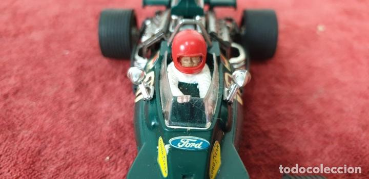 Scalextric: COCHE SCALEXTRIC. TYRRELL FORD. REF C-48. COLOR VERDE. 1973. - Foto 5 - 196148092