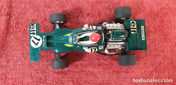 Scalextric: COCHE SCALEXTRIC. TYRRELL FORD. REF C-48. COLOR VERDE. 1973. - Foto 8 - 196148092