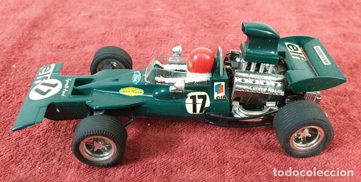 COCHE SCALEXTRIC. TYRRELL FORD. REF C-48. COLOR VERDE. 1973. (Juguetes - Slot Cars - Scalextric Exin)