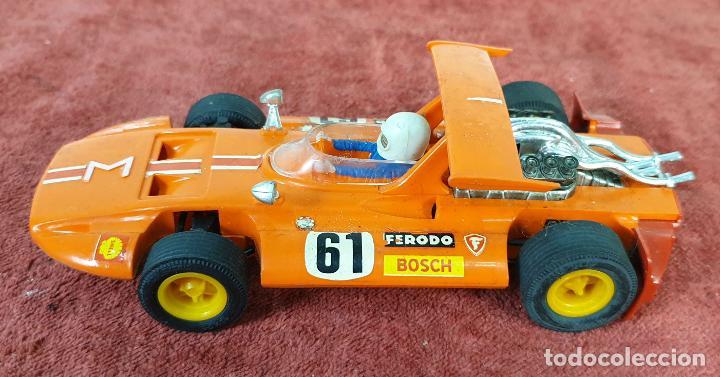 COCHE SCALEXTRIC. SIGMA. REF C-47. COLOR NARANJA. BUEN ESTADO. 1973. (Juguetes - Slot Cars - Scalextric Exin)
