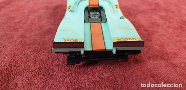 Scalextric: COCHE SCALEXTRIC. PORSCHE 917. CARROCERÍA EN VERDE AZULADO. REF C-46. ESPAÑA. 1972. - Foto 4 - 196157460