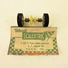 Scalextric: SCALEXTRIC EXIN. S-152/9 TREN RUEDAS POSTERIOR GT JAGUAR E. Lote 196166851