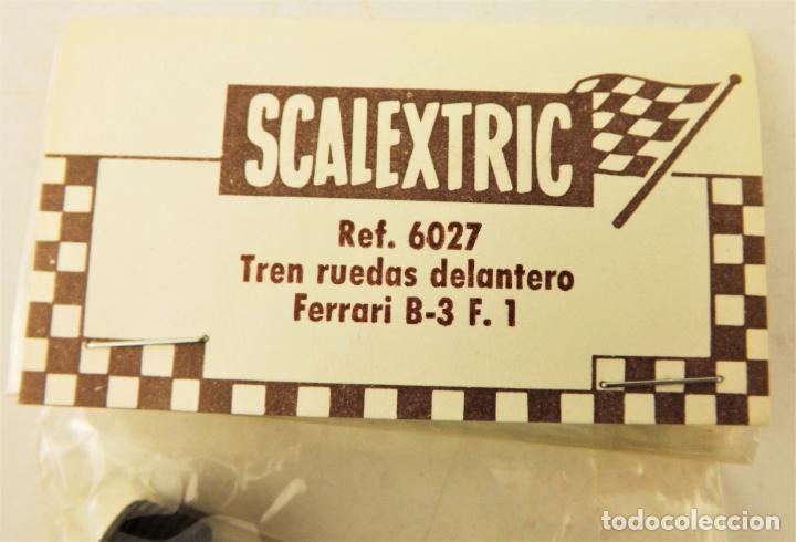Scalextric: Scalextric Exin. 6027 Tren ruedas delantero Ferrari B3 F1 - Foto 2 - 196169568