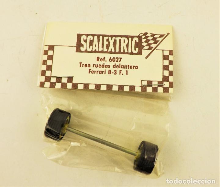 SCALEXTRIC EXIN. 6027 TREN RUEDAS DELANTERO FERRARI B3 F1 (Juguetes - Slot Cars - Scalextric Exin)