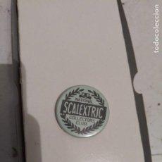 Scalextric: ANTIGUA CHAPA MIEMBROS DEL CLUB NACIONAL DE COLECCIONISTAS DE SCALEXTRIC INGLATERRA. Lote 196294870