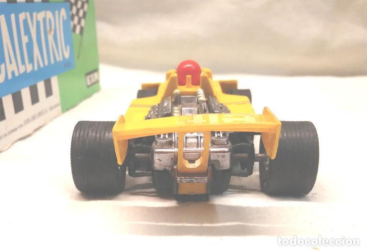 Scalextric: Tyrrell P34 amarillo Ref 4054 de Exin Scalextric años 70, con caja - Foto 4 - 197887421