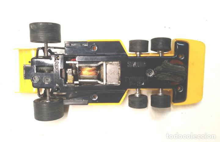 Scalextric: Tyrrell P34 amarillo Ref 4054 de Exin Scalextric años 70, con caja - Foto 5 - 197887421