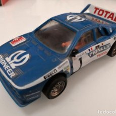 Scalextric: SCALEXTRIC EXIN LANCIA 037 PIONEER REF. 4074 AZUL. Lote 198120055