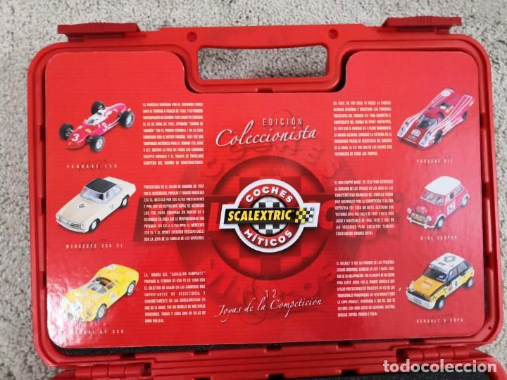 Scalextric: MALETIN DE 12 COCHES DE SCALEXTRIC COCHES MITICOS ALTAYA PLANETA - Foto 5 - 198312363