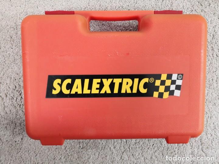 MALETIN DE 12 COCHES DE SCALEXTRIC ALTAYA PLANETA CON FICHAS Y DOCUMENTACIÓN (Juguetes - Slot Cars - Scalextric Exin)