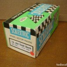 Scalextric: SCALEXTRIC CAJA VACIA SEAT 850 COUPE REF C-42. Lote 198478207