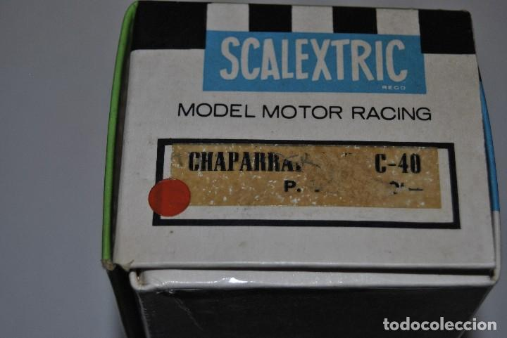Scalextric: CHAPARRAL GT C-40 MADE IN SPAIN EN SU CAJA ORIGINAL - Foto 6 - 198554917