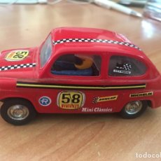 Scalextric: SCALEXTRIC SEAT T.C. 600 ROJO Nº 58 MADE IN SPAIN (J-3). Lote 198559731