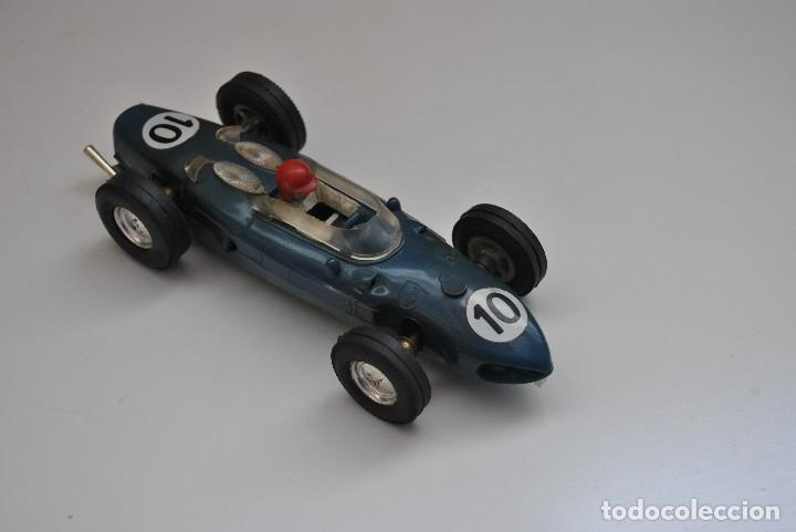 FERRARI AZUL MADE IN SPAIN TRIANG (Juguetes - Slot Cars - Scalextric Exin)