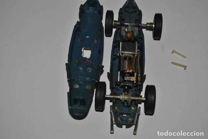 Scalextric: FERRARI AZUL MADE IN SPAIN TRIANG - Foto 5 - 198605527