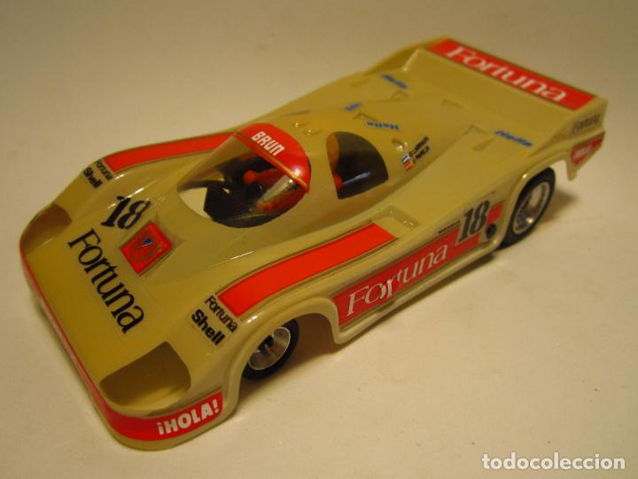 PORSCHE 956 FORTUNA SCALEXTRIC EXIN SRS (Juguetes - Slot Cars - Scalextric Exin)
