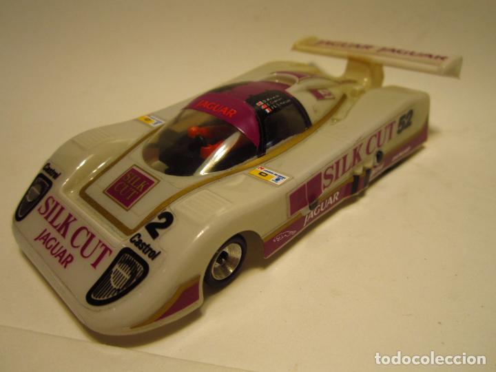 JAGUAR XJR SILKCUT SCALEXTRIC EXIN SRS (Juguetes - Slot Cars - Scalextric Exin)