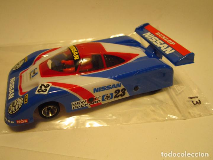 Scalextric: NISSAN R 89 SCALEXTRIC EXIN SRS - Foto 14 - 198964166