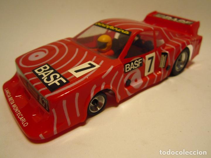 LANCIA BETA MONTECARLO BASF SCALEXTRIC EXIN SRS (Juguetes - Slot Cars - Scalextric Exin)