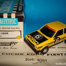 Scalextric: SCALEXTRIC EXIN 4057 FORD FIESTA COLOR AMARILLO AÑO 1980 SPAIN CAJA ORIGINAL NUEVO. Lote 199218348