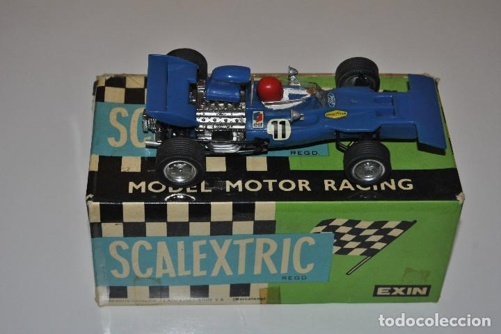 FORD TYRRELL REF.C 48 MADE IN SPAIN SE VENDE CON CAJA REPARADA (Juguetes - Slot Cars - Scalextric Exin)