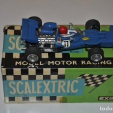 Scalextric: FORD TYRRELL REF.C 48 MADE IN SPAIN SE VENDE CON LA CAJA REPARADA. Lote 199386295