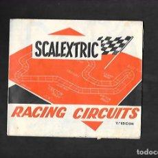 Scalextric: ANTIGUO CATALOGO RACING CIRCUITS 11ª EDICION DE SCALEXTRIC. Lote 200116022