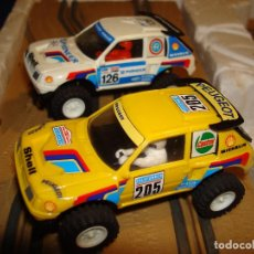 Scalextric: EXIN SCALEXTRIC STS CIRCUITO ATLAS 2008 CON DOS PEUGEOT 205 AÑO 1989. Lote 200836577