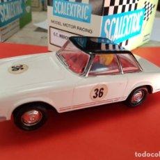 Scalextric: SCALEXTRIC EXIN MERCEDES 250 PAGODA BLANCO 1960 EN PERFECTO ESTADO. Lote 201273377