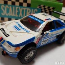 Scalextric: SCALEXTRIC EXIN TT PEUGEOT 405 PIONEER AÑOS 90. Lote 201289393