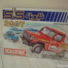 Scalextric: EXIN CUADRO CIRCUITO STS REF 2007. Lote 202856396