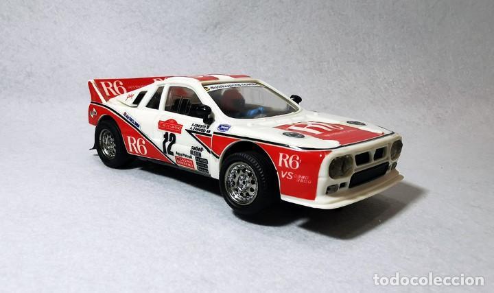 SCALEXTRIC EXÍN LANCIA 037 R-6 REF. 4086, PERFECTO ESTADO DEL AÑO 1988 (Juguetes - Slot Cars - Scalextric Exin)