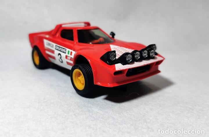 SCALEXTRIC EXÍN LANCIA STRATOS 4055/4065 BUEN ESTADO. (Juguetes - Slot Cars - Scalextric Exin)