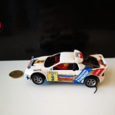 Scalextric: FORD RS 200 SCALEXTRIC EXIN CARLOS SAINZ COCHE JUGUETE VER FOTOS RALLY. Lote 205030770