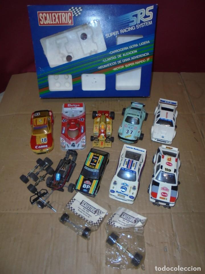 MAGNIFICO LOTE DE SCALEXTRIC SALIDA 1 EURO (Juguetes - Slot Cars - Scalextric Exin)