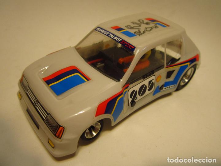 Scalextric: PEUGEOT 205 TURBO SCALEXTRIC EXIN SRS - Foto 2 - 205145231