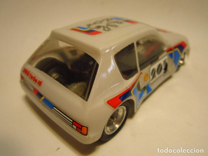 Scalextric: PEUGEOT 205 TURBO SCALEXTRIC EXIN SRS - Foto 4 - 205145231