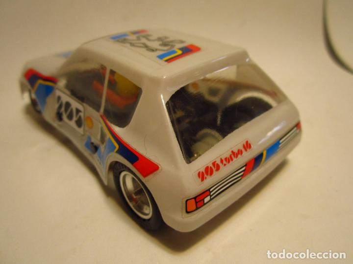 Scalextric: PEUGEOT 205 TURBO SCALEXTRIC EXIN SRS - Foto 5 - 205145231