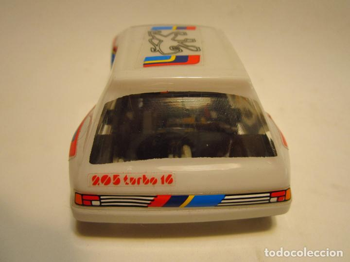Scalextric: PEUGEOT 205 TURBO SCALEXTRIC EXIN SRS - Foto 7 - 205145231