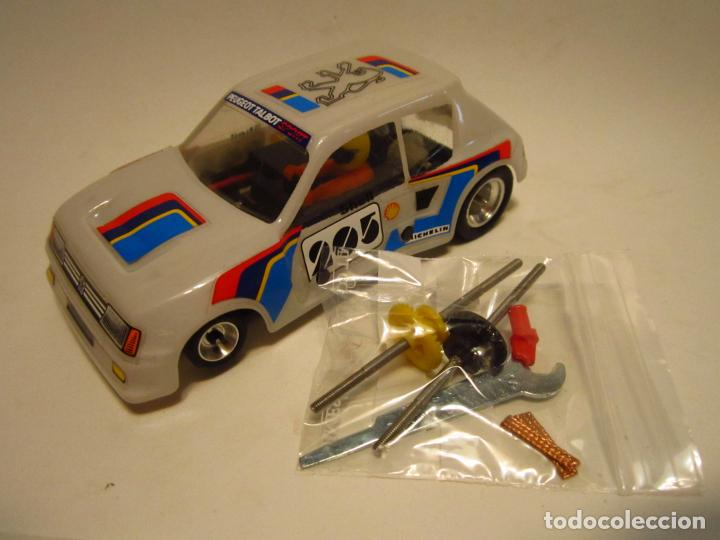 PEUGEOT 205 TURBO SCALEXTRIC EXIN SRS (Juguetes - Slot Cars - Scalextric Exin)
