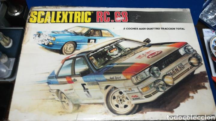 SCALEXTRIC RC. 68, EN SU CAJA ORIGINAL (Juguetes - Slot Cars - Scalextric Exin)