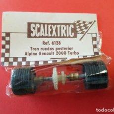 Scalextric: SCALEXTRIC EJE TRASERO ALPINE 2000 TURBO. Lote 205297720
