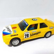 Scalextric: SCALEXTRIC BMW M3 SCHWEPPES EXIN AMARILLO CLARO. Lote 205358055