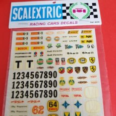 Scalextric: SCALEXTRIC EXIN BLISTER DECORACIONES REF 4235 ANTIGUO. Lote 205543688