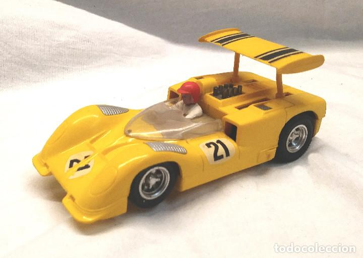CHAPARRAL GT AMARILLO REF C 40 DE EXIN SCALEXTRIC AÑOS 70 (Juguetes - Slot Cars - Scalextric Exin)