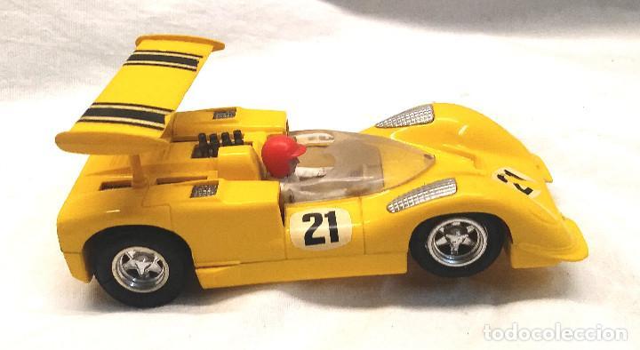 Scalextric: Chaparral GT Amarillo Ref C 40 de Exin Scalextric años 70 - Foto 3 - 205744561