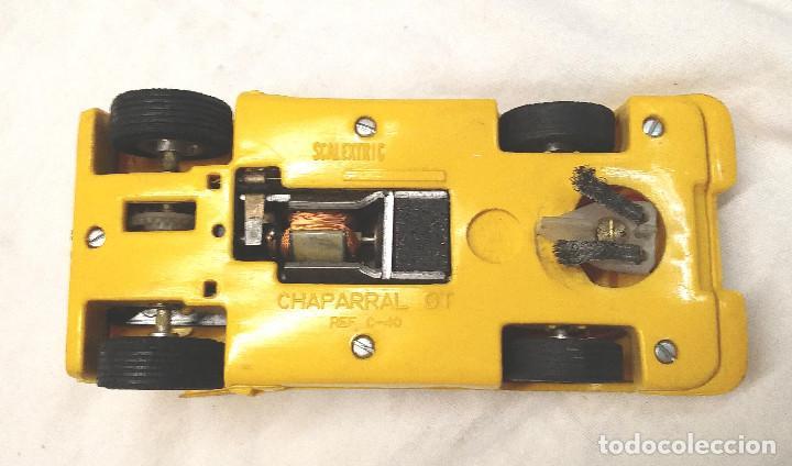 Scalextric: Chaparral GT Amarillo Ref C 40 de Exin Scalextric años 70 - Foto 5 - 205744561